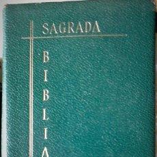Libros de segunda mano: NACAR-COLUNGA - SAGRADA BIBLIA VERSIÓN NACAR COLUNGA. Lote 172402474