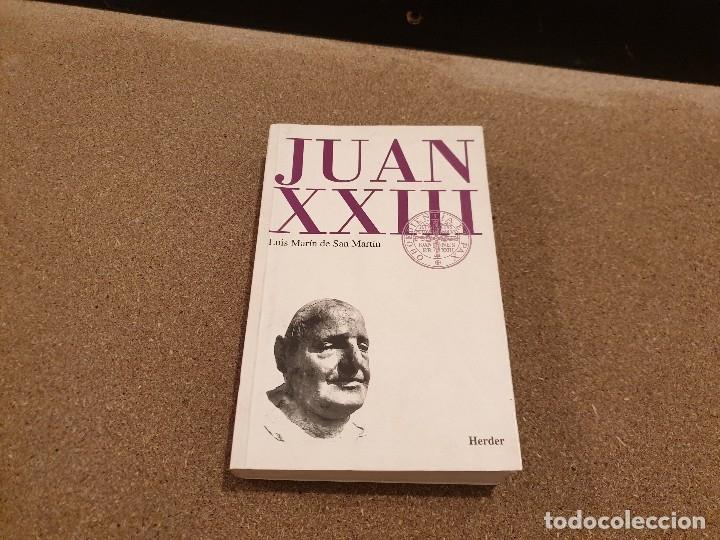JUAN XXIII........RETRATO ECLESIOLOGICO...LUIS MARTÍN DE SAN MARTIN.........1998...... (Libros de Segunda Mano - Religión)