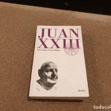 Libros de segunda mano: JUAN XXIII........RETRATO ECLESIOLOGICO...LUIS MARTÍN DE SAN MARTIN.........1998....... Lote 172467943