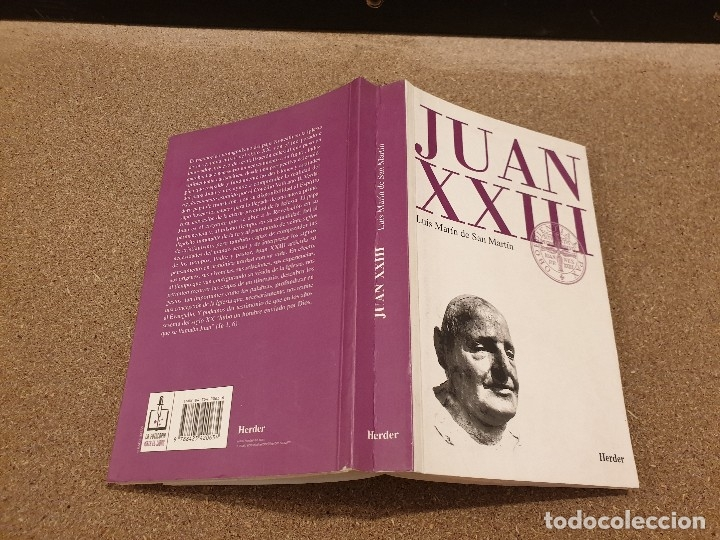 Libros de segunda mano: JUAN XXIII........RETRATO ECLESIOLOGICO...LUIS MARTÍN DE SAN MARTIN.........1998...... - Foto 2 - 172467943
