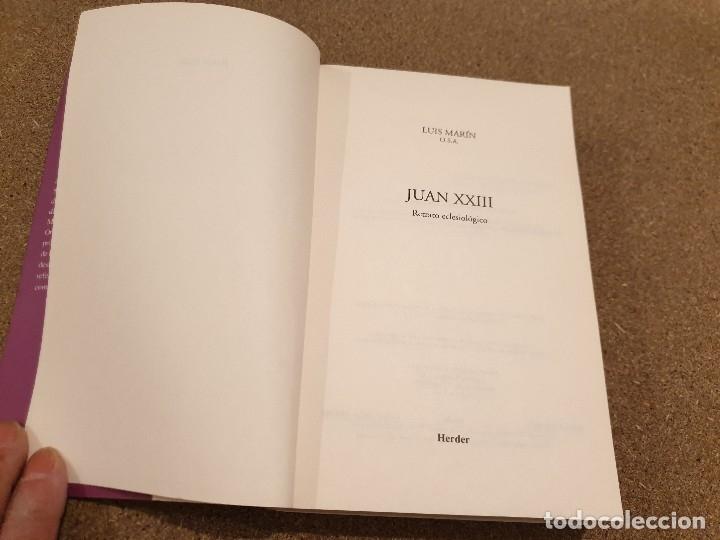 Libros de segunda mano: JUAN XXIII........RETRATO ECLESIOLOGICO...LUIS MARTÍN DE SAN MARTIN.........1998...... - Foto 3 - 172467943