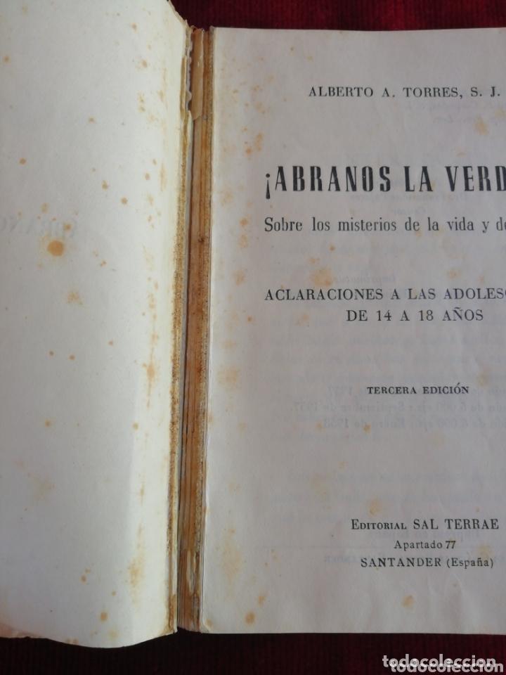 Libros de segunda mano: Ábranos la verdad sobre los misterios de la vida y del amor. Alberto A. Torres, S. L. - Foto 4 - 172626623
