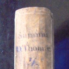 Libros de segunda mano: SUMMA TOTIUS THEOLOGIAE S. THOMAE AQUINATIS 1789 VII THOMAM BETTINELLI. Lote 172644785