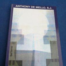 Libros de segunda mano: CONTACTO CON DIOS- ANTHONY DE MELLO, S.J., EDITORIAL SAL TERRAE, 1998.. Lote 172651435
