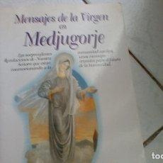 Libros de segunda mano: MENSAJES DE LA VIRGEN EN MEDJUGORJE (OBELISCO) . Lote 172845619