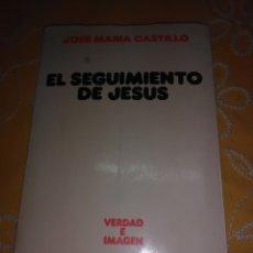 Libros de segunda mano: EL SEGUIMIENTO DE JESÚS. J. M. CASTILLO. SÍGUEME. 1987. 2ª ED.. Lote 172865730