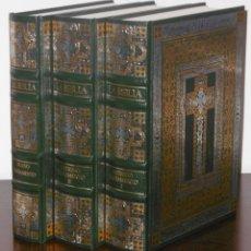 Libros de segunda mano: LA BIBLIA. 3 TOMOS ILUSTRACIONES GUSTAVO DORÉ CLUB INTERNACIONAL DEL LIBRO 1989 BIBLIA DE JERUSALEN. Lote 172933774