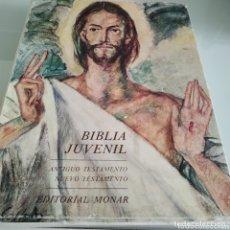 Libros de segunda mano: BIBLIA JUVENIL AÑO 1998 DOS TOMOS. Lote 172995953