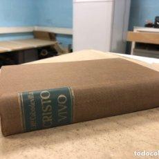 Libros de segunda mano: CRISTO VIVO (VIDA DE CRISTO Y VIDA CRISTIANA). JOSÉ MARÍA CABODEVILLA. ED. BAC 1970. Lote 173015935