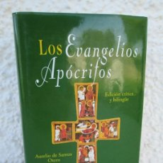 Libros de segunda mano: LOS EVANGELIOS APOCRIFOS. AURELIO DE SANTOS OTERO. ED BILINGÜE. BIBLIOTECA DE AUTORES CRISTIANOS. Lote 173360938