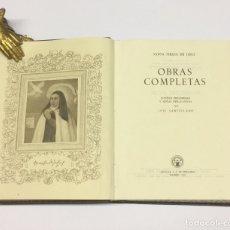 Libros de segunda mano: AÑO 1951 - SANTA TERESA DE JESÚS OBRAS COMPLETAS 7ª EDICIÓN - AGUILAR OBRAS ETERNAS. Lote 173471073