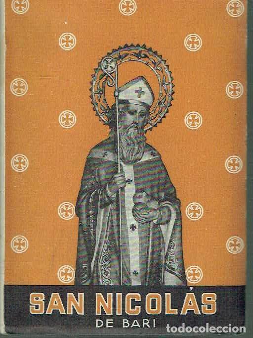 VIDA DE SAN NICOLÁS DE BARI. M.A.I. (Libros de Segunda Mano - Religión)