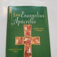 Libros de segunda mano: LOS EVANGELIOS APOCRIFOS.- AURELIO DE SANTOS OTERO. Lote 173989587