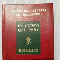 Libros de segunda mano: ES CRISTO QUE PASA. Lote 173993182