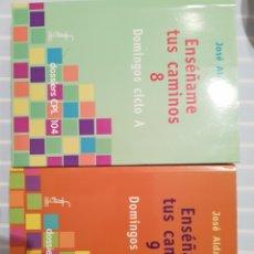 Libros de segunda mano: ENSEÑAME TUS CAMINOS. Lote 173993382