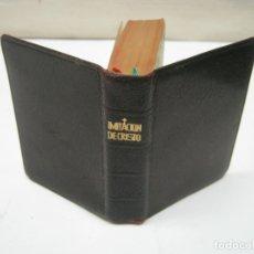 Libros de segunda mano: BELLO LIBRO MINIATURA 9.5 CM - IMITACION DE CRISTO TOMAS KEMPIS EDITORIAL REGINA 1949. Lote 174015585