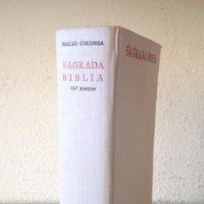 Libros de segunda mano: SAGRADA BIBLIA NÁCAR-COLUNGA / BIBLIOTECA AUTORES CRISTIANOS BAC 1965. Lote 174027777