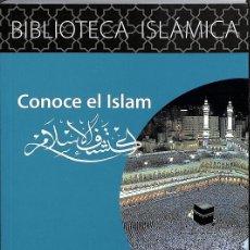 Libros de segunda mano: CONOCE EL ISLAM. Lote 174215422