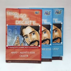 Libros de segunda mano: LOTE DE 3 LIBRITTOS DE COLECCION TENGO ALGO QUE DECIRTE.. Lote 174263247