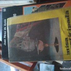Libros de segunda mano: MISA PARTICIPADA. EDITORIAL ESET. SÉPTIMA EDICIÓN.1965. VITORIA ESPAÑA. Lote 174272617