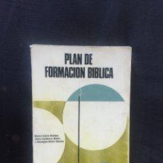 Libros de segunda mano: PLAN DE FORMACIÓN BÍBLICA MANUEL GARCÍA MARTÍNEZ, JAIME CASTIÑEIRAS, J. DOMÍNGUEZ. Lote 175628758