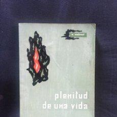 Libros de segunda mano: PLENITUD DE UNA VIDA. O. AMBROSI. Lote 175696544