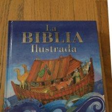 Libros de segunda mano: LA BIBLIA ILUSTRADA, MURRAY WATTS ILUSTRACIONES HELEN CANN. Lote 175722125