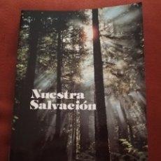 Libros de segunda mano: NUESTRA SALVACIÓN. EXPOSICIÓN DE LA FE CATÓLICA Y DEVOCIONARIO (ANTONI TÀPIES / IGNASI SEGARRA). Lote 175768139