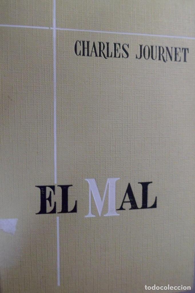 EL MAL (ESTUDIO TEOLÓGICO) . CHARLES JOURNET (Libros de Segunda Mano - Religión)
