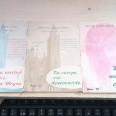 Libros de segunda mano: LOTE 3 LIBRITOS DE RUFINO VILLALOBOS CANONIGO DE SEVILLA DE VERDADES SOBRE ROCA NºS. 1,2 Y 35 1964. Lote 175900517