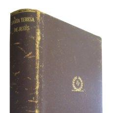 Libros de segunda mano: 0031283 OBRAS COMPLETAS DE SANTA TERESA DE JESUS / SANTA TERESA DE JESÚS. Lote 176294188