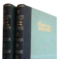 Libros de segunda mano: 0031112 LOTE DE 2 OBRAS RELACIONADOS ENTRE SI: HISTORIA SAGRADA / HISTORIA SAGRADA..... Lote 176294287