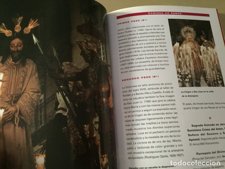 Libros de segunda mano: SEMANA SANTA EN SEVILLA 318 PAGINAS - Foto 5 - 176464958