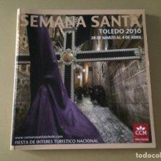Libros de segunda mano: SEMANA SANTA TOLEDO 2010 192 PAGINAS . Lote 176465425