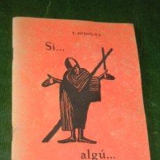 Libros de segunda mano: ENGELBERG MVENG S.J, - SI.ALGÚ... CAMI DE LA CREU - ED.ESTELA 1964 ILUSTRADO ARTE TRADIC. BAMÚ. Lote 176496232