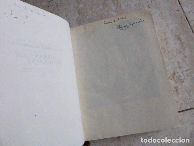 Libros de segunda mano: SANTA TERESA DE JESUS. OBRAS COMPLETAS. AGUILAR, 1957. PLENA PIEL. 8ª ED. - Foto 4 - 176639962