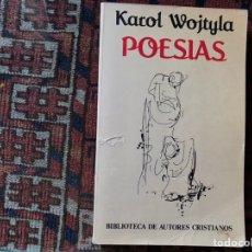 Libros de segunda mano: POESÍAS. KAROL WOJTYLA. Lote 176794770