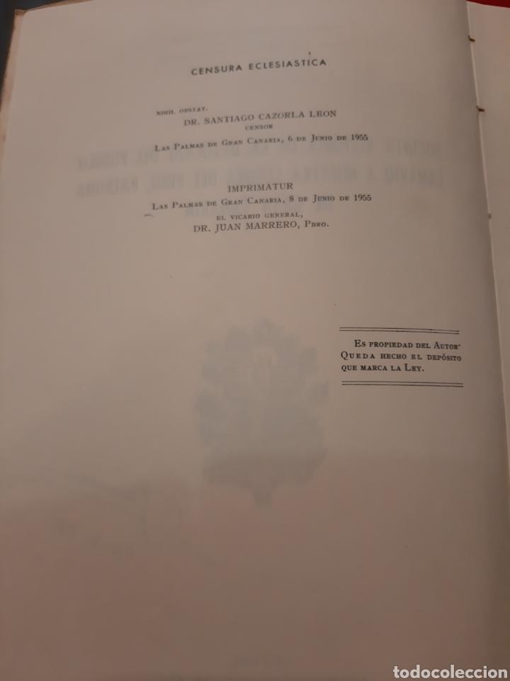Libros de segunda mano: 1955 Las Palmas Gran Canaria historia devoción pueblo nuestra sra Pino patrona Gran Canaria - Foto 2 - 176957013