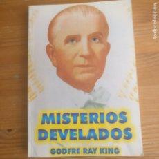 Libros de segunda mano: MISTERIOS DESVELADOS KING, GODFRE RAY ED. SEÑORA PORTEÑA 2003 211PP. Lote 176963715