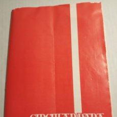 Libros de segunda mano: CIRCULAR PARA DIRIGENTES. Lote 177012133