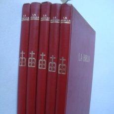 Livros em segunda mão: LA BIBLIA. 5 TOMOS (COMPLETO) - CÉSAR ANGELINI (CODEX, ARGENTINA, 1962).. Lote 177112808