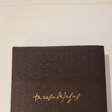 Libros de segunda mano: OBRAS COMPLETAS - SANTA TERESA DE JESÚS- AGUILAR 1970. Lote 177189373
