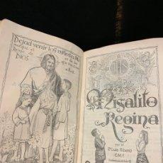 Libros de segunda mano: ANTIGUO MISALITO REGINA, AÑO 1958, 798 PAGS, MIDE APROX 13X8CMS. . Lote 177304088