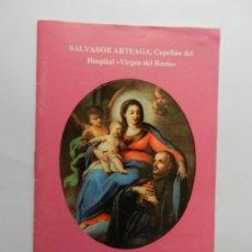 Libros de segunda mano: CON VERSOS A LA VIRGEN - SALVADOR ARTEAGA ROMERO - CAPELLÁN DEL H. VIRGEN DEL ROCIO - SEVILLA 1994. . Lote 177376220