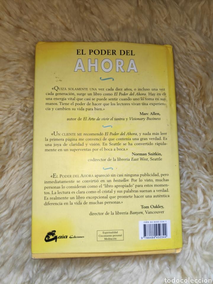 Libros de segunda mano: El poder del ahora - Eckhart Tolle - Un camino hacia la realización espiritual - Foto 2 - 177555640