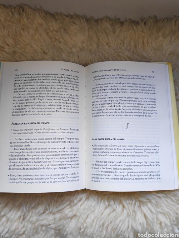 Libros de segunda mano: El poder del ahora - Eckhart Tolle - Un camino hacia la realización espiritual - Foto 3 - 177555640