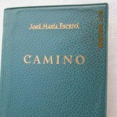 Libros de segunda mano: CAMINO - JOSE MARÍA ESCRIVÁ - ED. RIALP 1956. . Lote 177725193