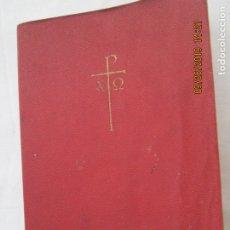 Libros de segunda mano: NUEVO TESTAMENTO - EDITORIAL HERDER BARCELONA 1960.. Lote 177726344