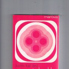 Libros de segunda mano: CATEQUESIS DE ADULTOS I CONTENIDO Y METODOLOGIA JULIAN RUIZ DIAZ 1972. Lote 177787344