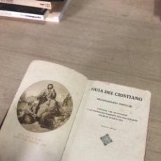Libros de segunda mano: GUIA DEL CRISTIANO. Lote 177821808
